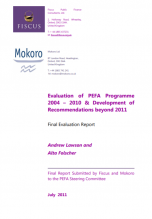 Independent Evaluation of the PEFA Program 2011