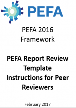 PEFA Report Review Template