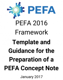 Template and Guidance for the Preparation of a PEFA Assessment Concept Note or Terms of Reference for Central Governments