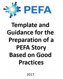 Template and Guidance for the Preparation of PEFA Story Based on Good Practices