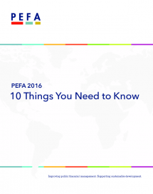 PEFA 2016: 10 Things You Need to Know